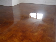 Our Rockford concrete designers can also create surfaces for your home's interior